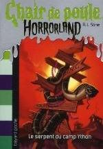 SERPENT DU CAMP YTHON HORRORLAND N9